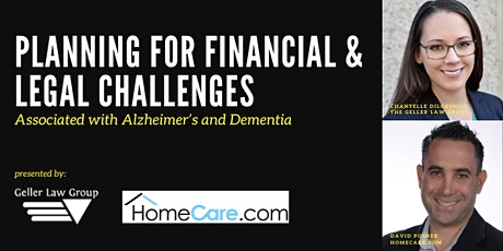 Financial & Legal Challenges Associated with Alzheimer's and Dementia tickets