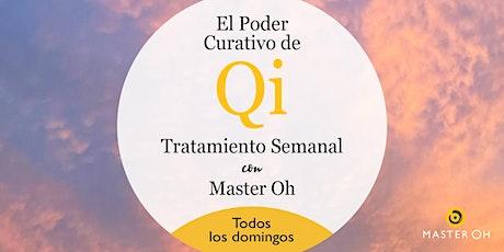 El Poder Curativo de Qi: Tratamiento Semanal con Master Oh tickets