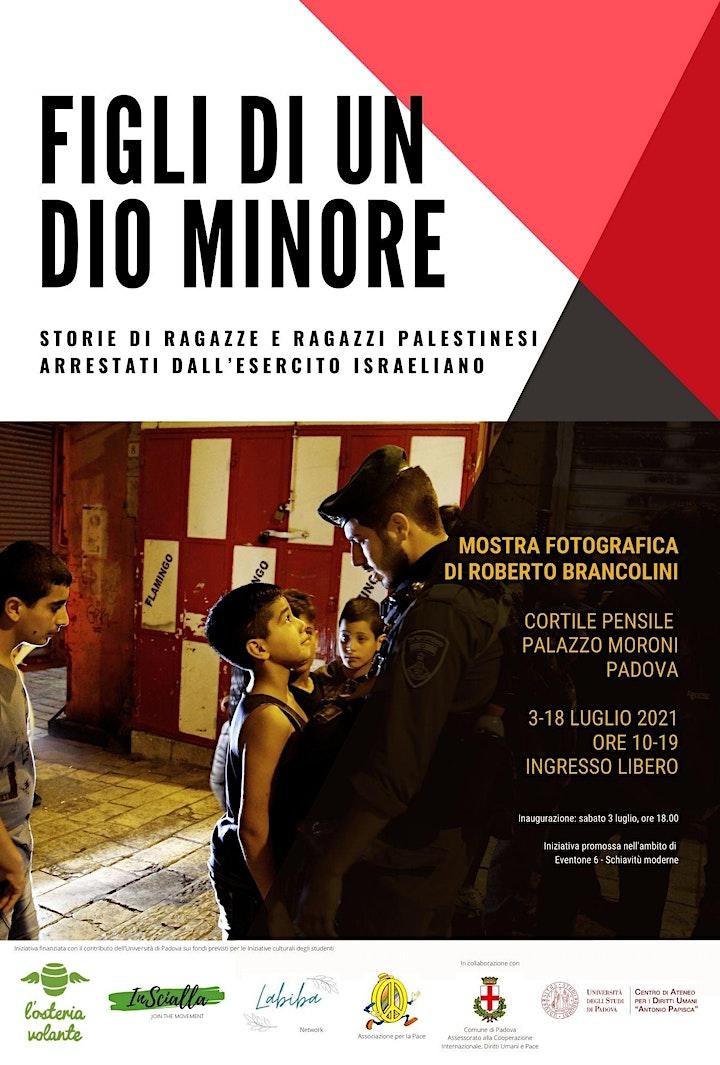 """Immagine Inaugurazione mostra fotografica """"Figli di un dio minore"""""""