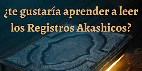 Curso  de Registros Akashicos nivel I entradas