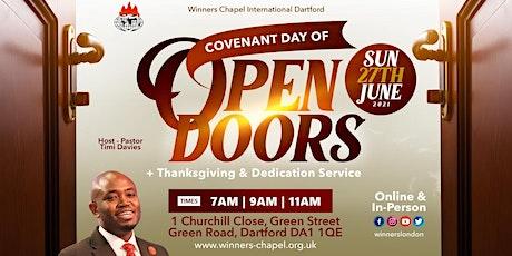 3rd Service @Winners Chapel International Dartford tickets