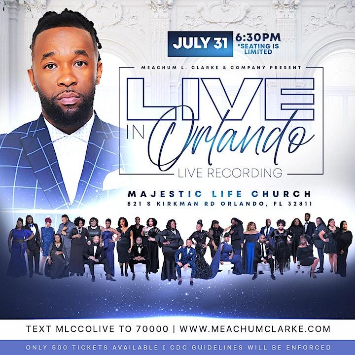 Meachum L. Clarke & COMPANY - Live Recording Experience [Orlando, FL] image