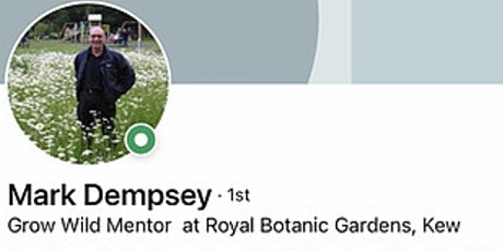 Grow Wild Lecture by Kew Garden's Mark Dempsey tickets