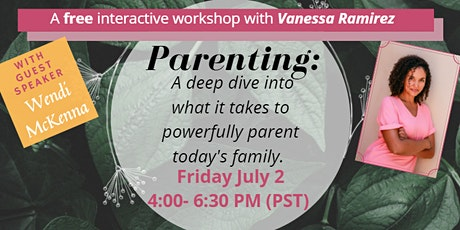 Parenting: A deep dive into what it takes tickets