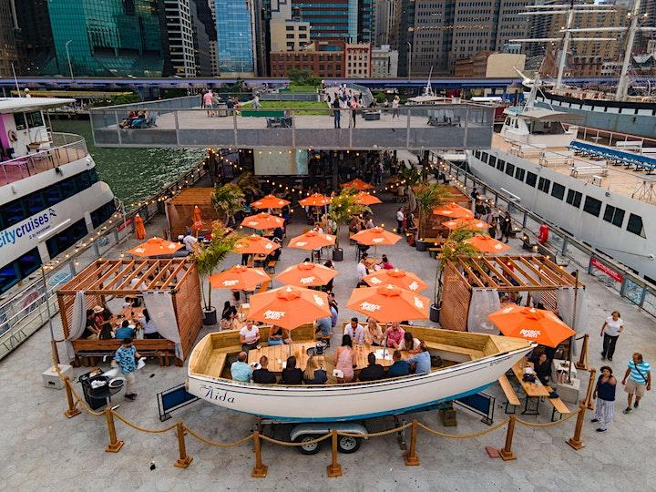 SATURDAYS: BRUNCH, DINNER & SUNSETS @ WATERMARK BEACH - PIER 15 NYC image