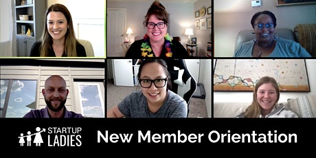 LIVE + VIRTUAL New Member Orientation tickets