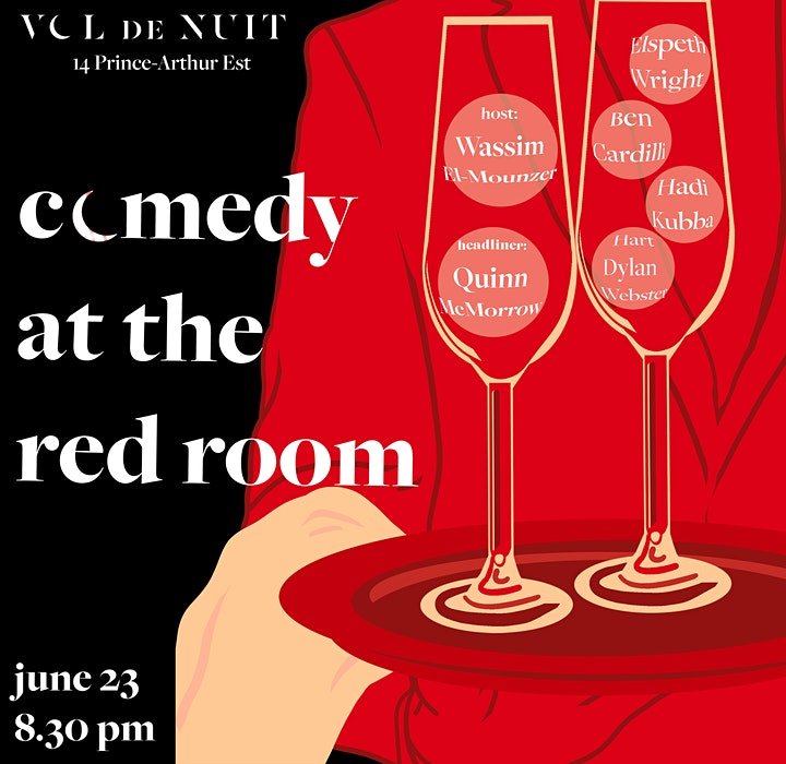 Comedy at the Red Room image