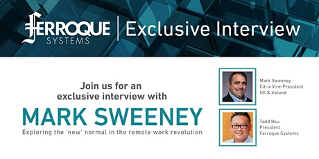 Thought Leadership: Exclusive Interview with Mark Sweeney tickets
