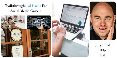 Ad Hacks For Small Business Social Media Growth tickets