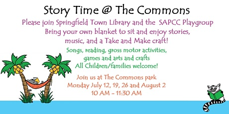 Story Time @ The Commons tickets