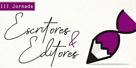 [Día 1] 3ra Jornada de Escritores & Editores entradas