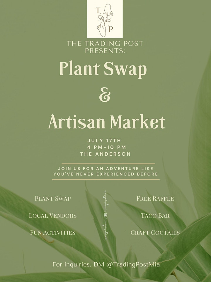 The Trading Post Monthly Plant Swap and Artisan Marketplace (Free Event) image