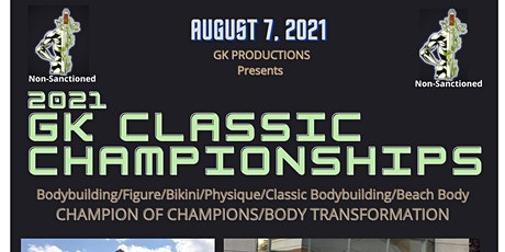 2021 GK CLASSIC CHAMPIONSHIPS tickets