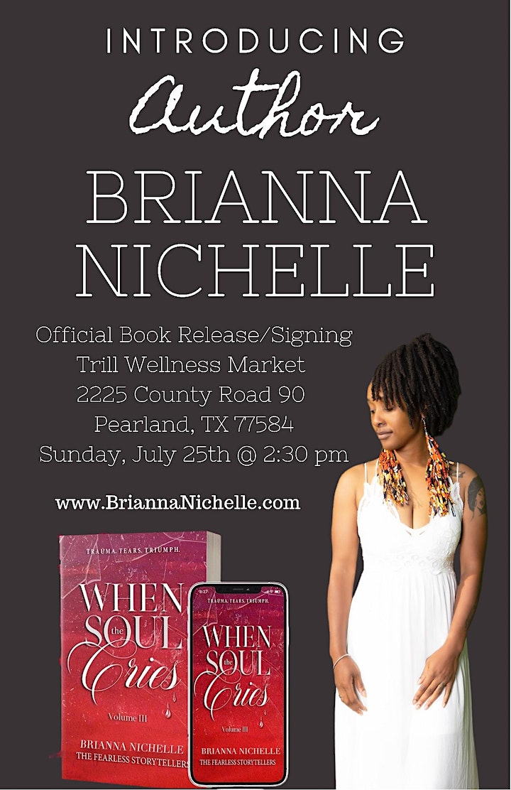 Book Release/Signing for Author Brianna Nichelle image