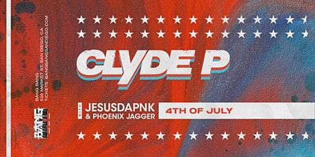 Clyde P at Bang Bang | SUN 07.04.21 tickets