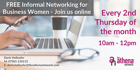 FREE Informal Networking for Business Women (Online) tickets