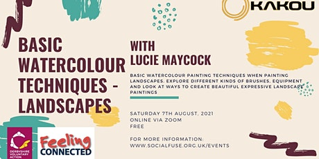 Basic Watercolour Techniques - Landscapes, with Lucie Maycock tickets