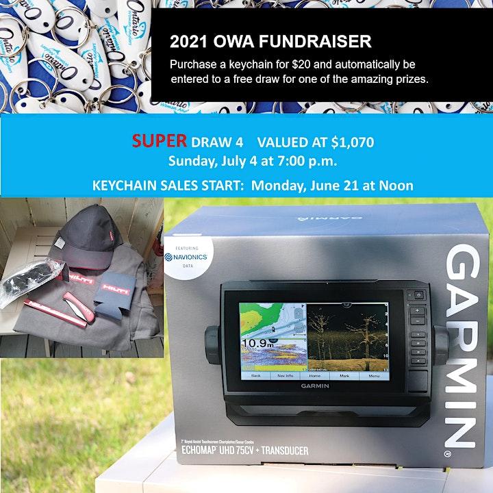 DRAW 4 - Ontario Women Anglers - 2021 Fundraiser image