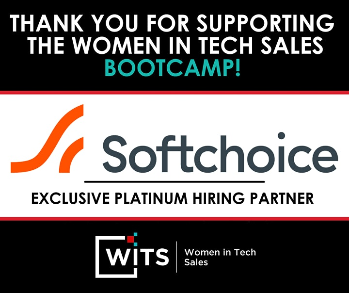 Women in Tech Sales Bootcamp (Virtual) - Atlanta, GA - October, 2021 image