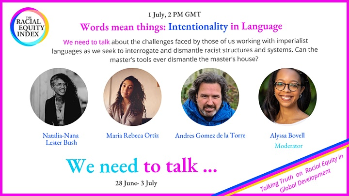 We Need to Talk: Talking Truth on Racial Equity in Global Development image