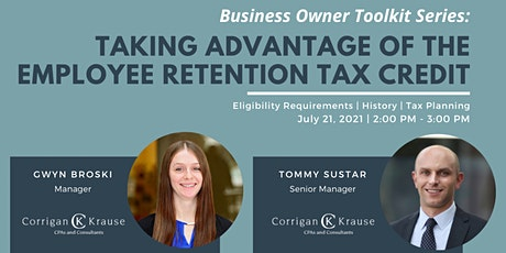 Taking Advantage of the Employee Retention Tax Credit tickets