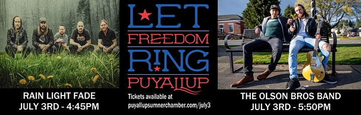 Let Freedom Ring! Puyallup's 3rd of July Celebration image