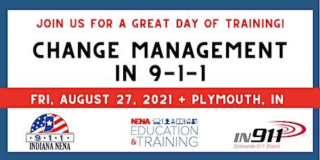 Change Management in 911 tickets