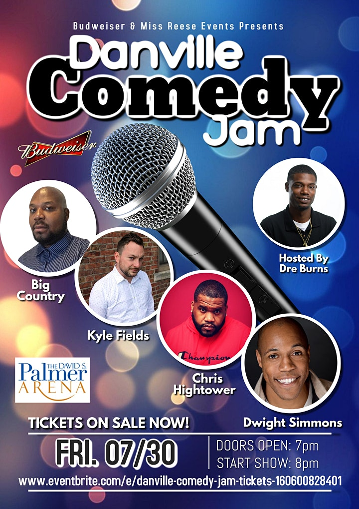 Danville Comedy Jam image