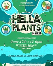 Hella Plants Market tickets