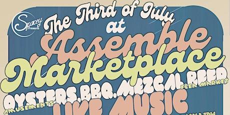 3rd of JULY @ Assemble Marketplace & Craneway Pavilion tickets