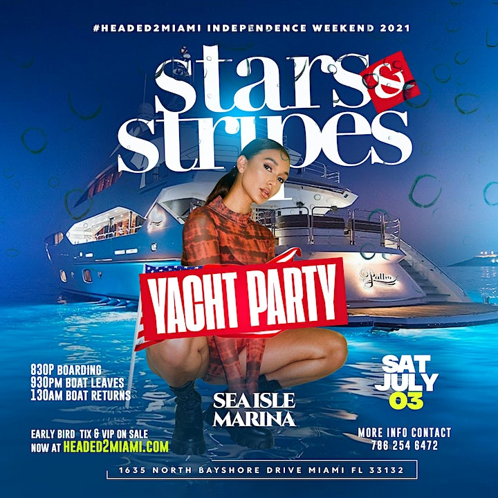 StarsNStripes #Dripset  PRIVATE POOL & BEACH PARTY (no longer yacht party) image