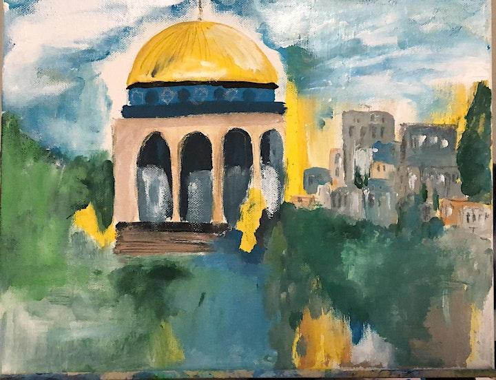 Sunshine & Paint for Palestine image