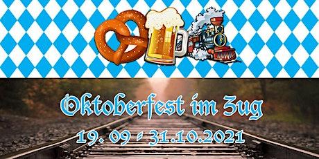 Oktoberfest im Zug 18:30 - 22:00 Tickets