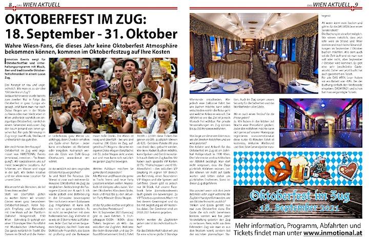 Oktoberfest im Zug 18:30 - 22:00: Bild