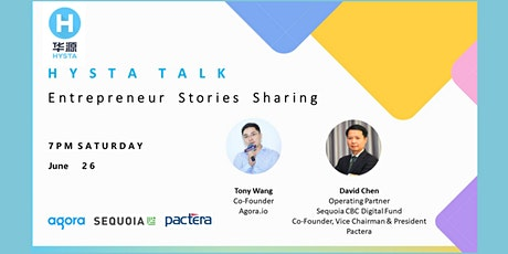 Fireside chat with Tony Wang and David Chen tickets