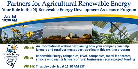 Partners for Agricultural Renewable Energy tickets