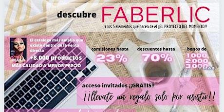 Evento Faberlic en Castellon entradas