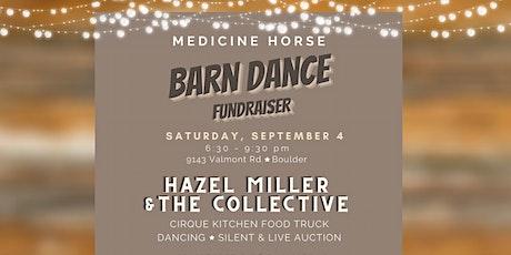 Ticket sales for Medicine Horse Barn Dance Fundraiser tickets