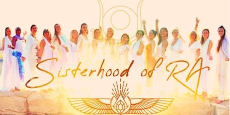 SISTERHOOD OF RA - Sun Goddess Queen Codes Retreat Online + InPerson GREECE tickets