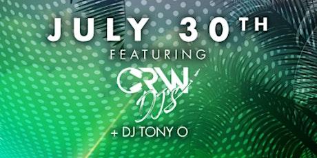 DVNO Fridays: CRW.ENT tickets