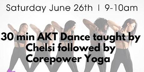 AKT x CorePower Yoga Fitness Class tickets