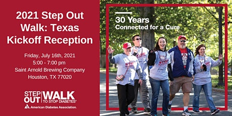 2021 Step Out Walk to Stop Diabetes® Houston Kickoff Reception tickets