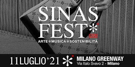 SINAS FEST* Arte/Musica/Sostenibilità biglietti