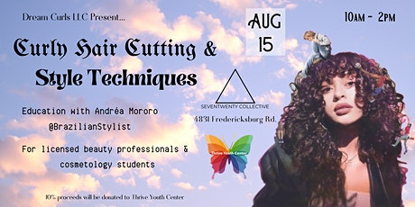 Visual Learning: Curly Hair Cutting & Style Techniques tickets