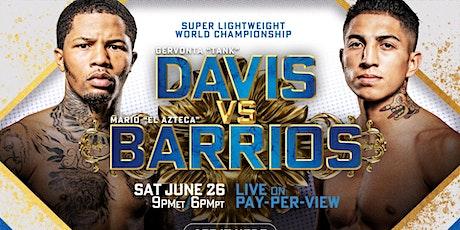 DAVIS VS. BARRIOS Boxing tickets