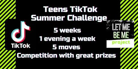 TikTok Summer Challange tickets