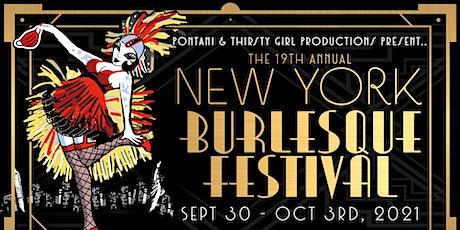 The New York Burlesque Festival's Golden Pastie Awards tickets