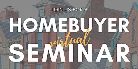 Coalition Properties Online Homebuyer Seminar tickets