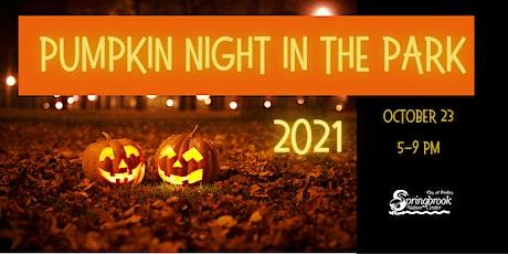 Pumpkin Night in the Park 2021 tickets