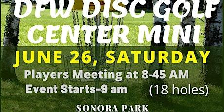 DFW Disc Golf Center Mini tickets